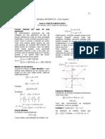 Matemática - Apostila Álgebra - Aula 05 - Funções Modulares