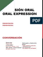 1.- Inicios Expresion Oral