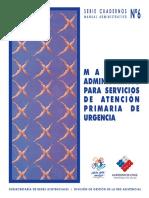 Manual Administrativo  para Servicios de urgencia