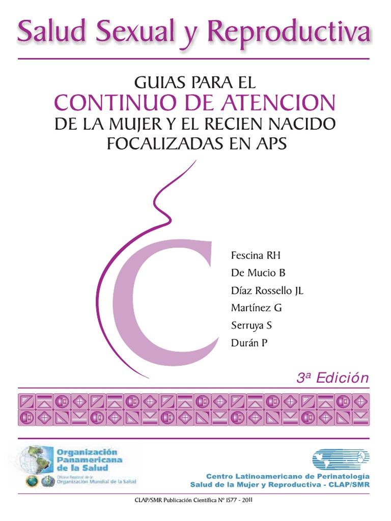 American College of Obstetricians and Gynecologists Pautas de diabetes gestacional 2020