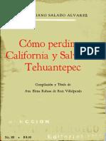 [1968] COMO PERDIMOS CALIFORNIA Y SALVAMOS TEHUANTEPEC - SALADO A., V..-.pdf