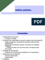 4 Cinetica Quimica Presentacion..Reacciones de Primer y Segundo Orden
