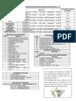 Lista de Útiles 7A2