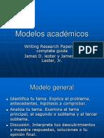 Modelos académicos