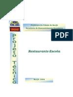 Projeto Tecnico Restaurante Escola
