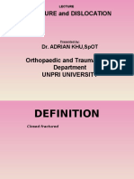 Pricple of Closed Fracture Mngement