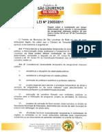 Lei Municipal Nº 2365-2011