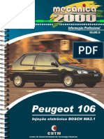 Vol.20 - Peugeot 106 BOSCH MA 3.1 (Relançado)_capa