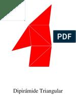 Desarrollo de Dipirámide Triangular