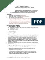 full feasibility analysisnuk