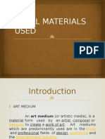 Local Materials Used