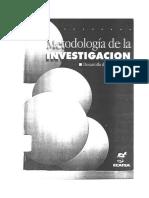 Eyssautier de La Mora - Metodología de La Investigacion Cie