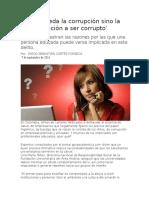 Etica Profesional y Corrupcion