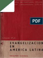 Galilea, Segundo - Evangelizacion en America Latina