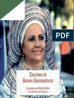 Canciones Guatemaltecas Libro