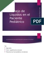 Manejo de Líquidos en El Paciente Pediátrico