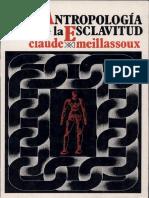 Meillassoux - Antrop de La Esclavitud