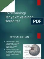 epidemiologi penyakit herediter