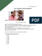 Class Worksheet