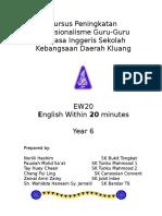 Modul EW20 Year 6