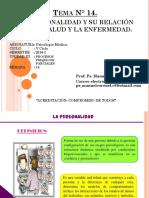 14.- Clase - La Personalidad y Su Relacion Con La Salud y Enfermedad