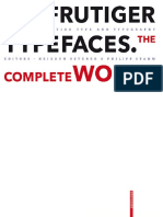 Adrian Frutiger Typefaces the Complete Works