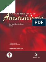 Anestesia Pediatrica CMA