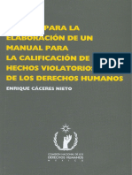 Estudio Para Realizacion de Un Manual Calificatorio de Violacion a DH_CNDH