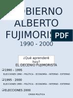 Gobierno de Alberto Fujimori - 4to
