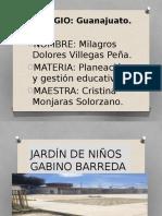 JARDÍN de NIÑOS Prsentación Examen Final.