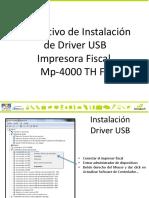 Instlacion de Drivers Usb Impresora Fiscal