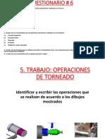 Cuestionario 6 - Torno y Fresadora y Taladro