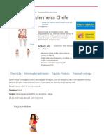 Espartilho Enfermeira Chefe - Bodies e Espartilhos - Lingeries _ SexDesejo