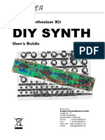 Synth Manual by Doepfer DIY