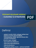 Cushing's Syndromme