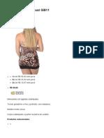 Minivestido Sensual GB11 - Kula Clubwear Roupas Sensuais