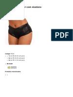 Short Em Poliéster Com Elastano - Kula Clubwear Roupas Sensuais