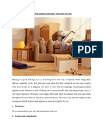 Moving Appliances During a Relocation Process
