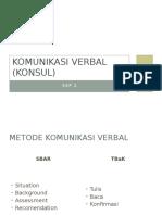 Komunikasi Verbal Efektif (Konsul)