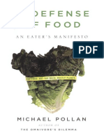 In Defense of Food an Eater 39 s Manifesto