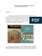 6 Obras Fundamentales Para Entender La Guerra El Salvador-Honduras de 1969