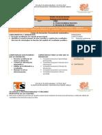 Planificación de Secuencia 8 y 9 Matematicas