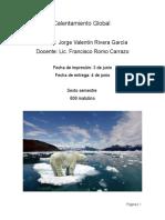 Tesis Calentamiento Global
