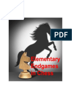 Elementary Endgames in Chess