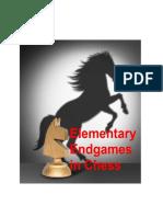 Elementary Endgames in Chess