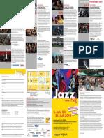 Flyer Jazz Im Hof 2016