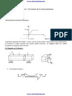 2 Formation de La Rotule Plastique