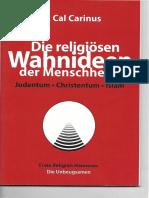 274607556 Die Religiosen Wahnideen Der Menschheit Judentum Christentum Islam