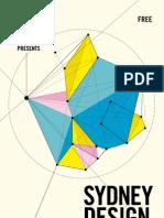 Sydney Design 2010 Pocketbook featuring program & essays