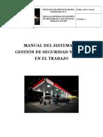 Manual Del Sistema de Gestión de Seguridad y Salud en El Trabajo